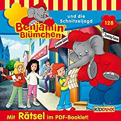 Benjamin Blümchen und die Schnitzeljagd (Benjamin Blümchen 128)
