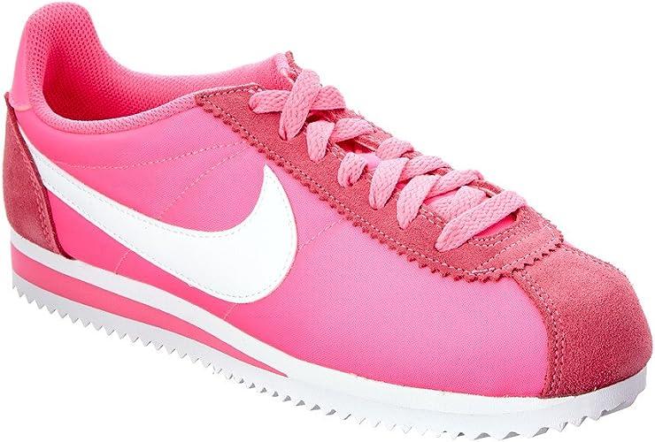 Nike WMNS Classic Cortez Nylon, Chaussures de Sport Femme