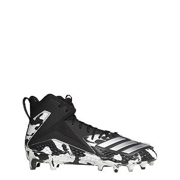 release date b3ad8 d3c6e adidas Freak Mid RC X Carbon Rattle American Footballschuhe - schwarz-weiß  Gr. 10