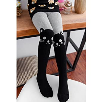 LA HAUTE Girls Leggings Fashion Warm Pantyhose Thermal Dance Tights Stockings for Winter Autumn