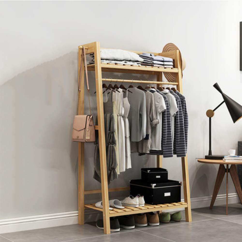B 70x40x140cm(28x16x55inch) Hall Tree Entryway Storage Shelf,Coat Rack with shoes Rack,Hallway Organizer 1-Tier Shelves 3 in 1 Design Easy Assembly-J 100x35x165cm(39x14x65inch)