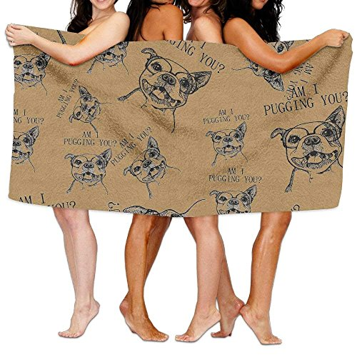 Doormat bags Am I Pugging You 100% Cotton Premium Quality Ba