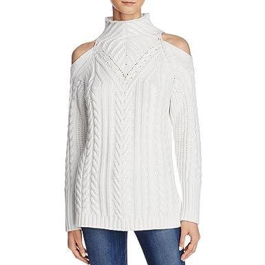525 America Womens Mock Neck Merino Wool Mock Turtleneck Sweater ...