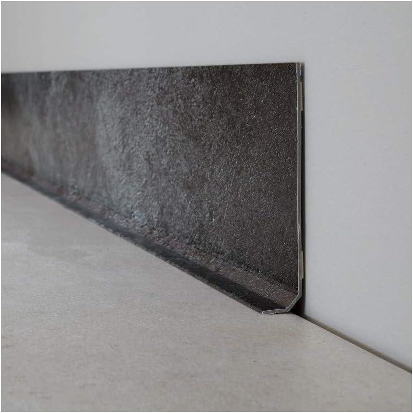 99DECO Plinthe PVC Lot de 10 Laisse B/éton