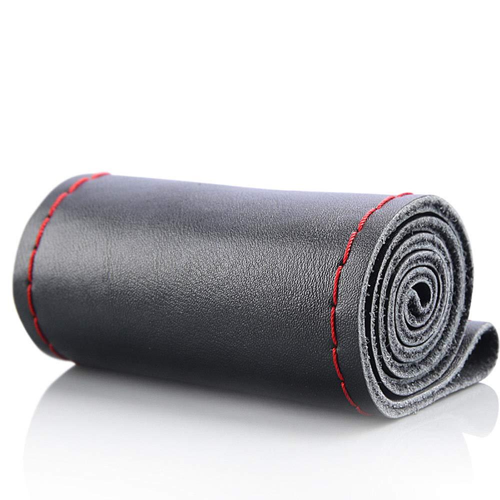 Coprivolante in vera pelle supporto di dimensioni standard 36//38//40//42//45//47//50 cm cucito a mano per fai da te