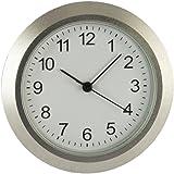 Uhrwerk aus Metall I Einbau-Uhr I Modellbau-Uhr I Quartz Uhrwerk I Ø 36,5 mm I Nr.8067