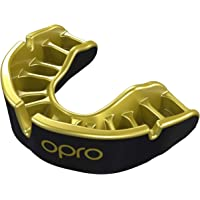 OPRO Gold Level Kids Junior Mouthguard Gum Shield for Rugby, Hockey And Other Contact and Combat Sports - Up to Age 10