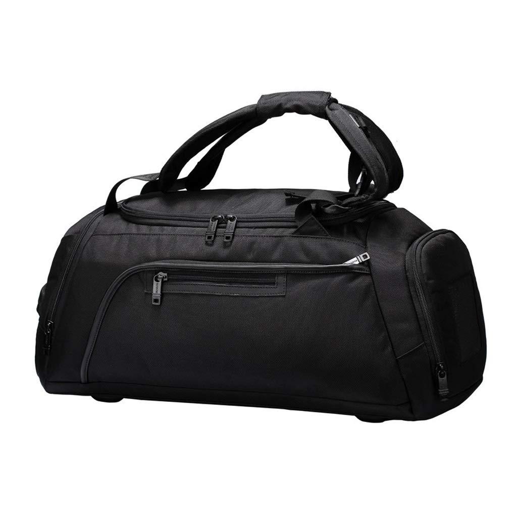 WANGXIAOLINYUNDONGBAO トラベルバッグ、ポータブル、マルチファンクション、フィットネスバッグ、短距離用バッグ、スポーツバッグ、ブラック,51*25*23.5cm   B07PB9WSDV