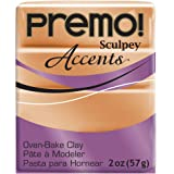 Premo Sculpey Polymer Clay 2 Ounces-Copper