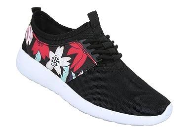 Damen Freizeitschuhe Schuhe Sneaker Turnschuhe Schnürer 36 37 38 39 40 41
