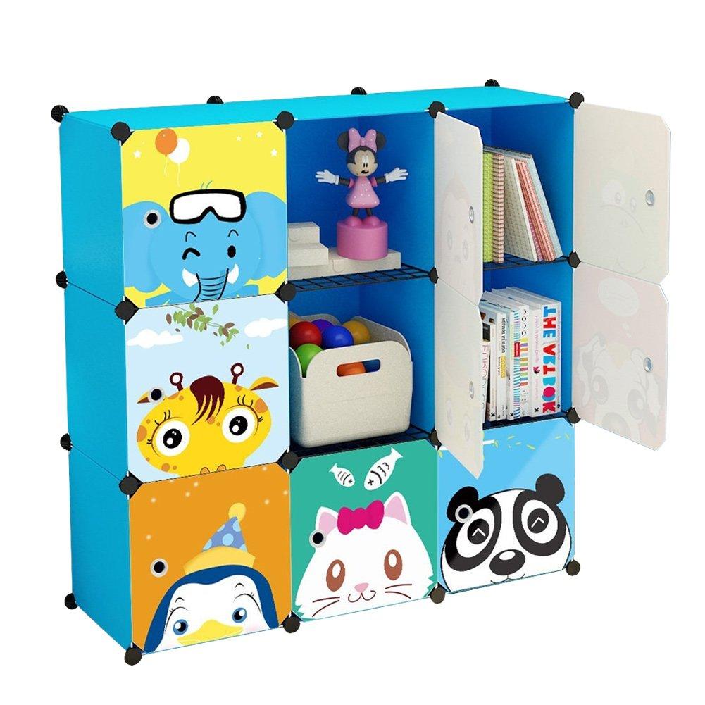 Koossy Expandable Kids\' Bookcase Toy Storgae Organizer, Capacious ...