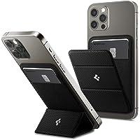 Spigen Smart Fold Magnetic Wallet Card Holder Case Designed for MagSafe Compatible with iPhone 12 / iPhone 12 Pro/iPhone…