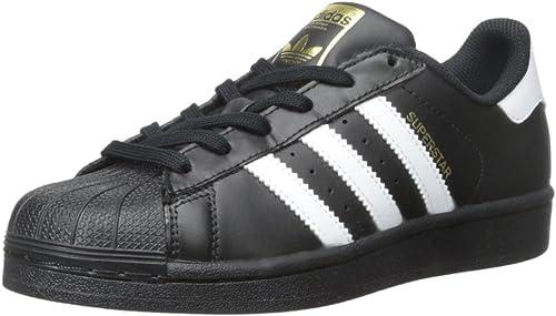 adidas Originals Mädchen Superstar Sneaker, weiß