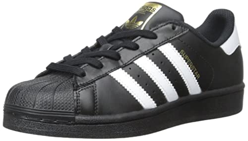 adidas Originals Superstar, Zapatillas Unisex Niños, Blanco (Ftwr WhiteCore BlackFtwr White), 38 EU