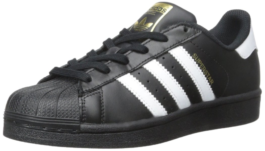 adidas Originals Superstar C Basketball Shoe (Little Kid),Black/White/Black,11.5 M US Little Kid