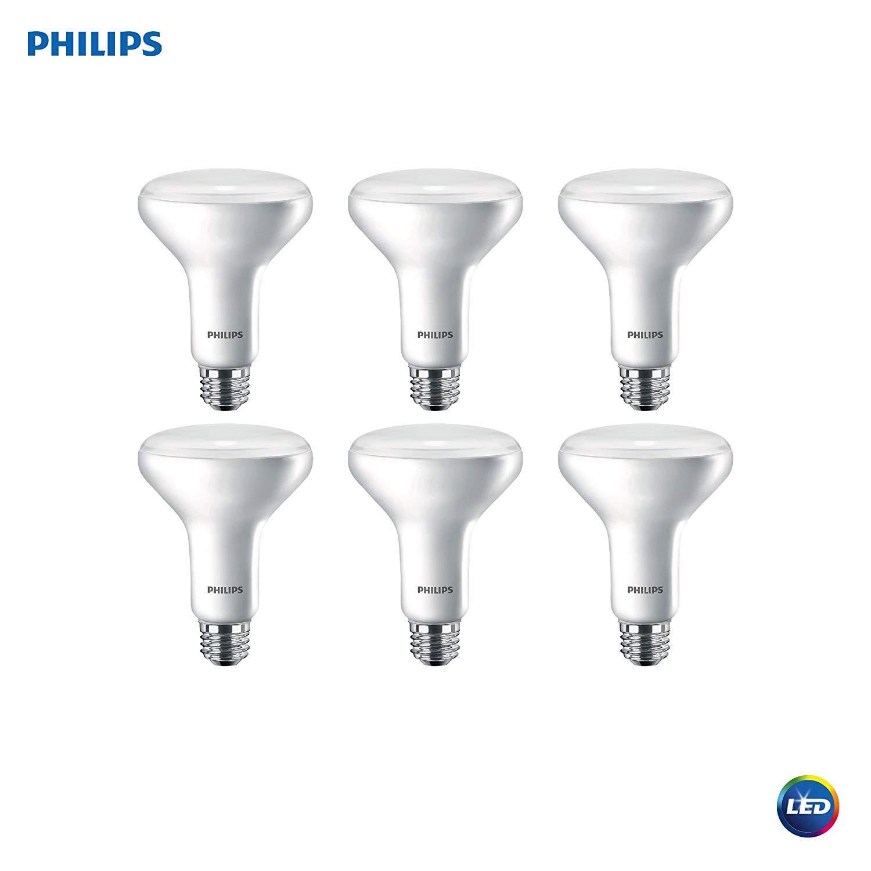 Amazon.com: Philips BR30 Bombilla LED regulable: 650 lúmenes ...