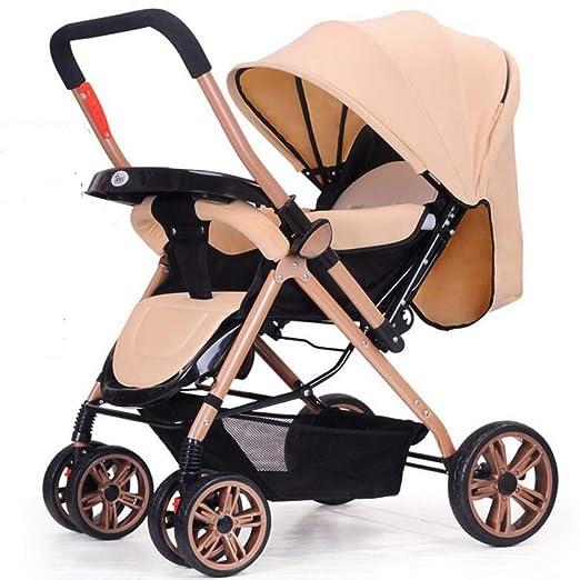 Roll-qq Cochecito bidireccional, Cochecito Plegable para bebé con ...