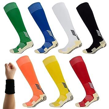 Dee Plus Calcetínes Antideslizantes Non Slip Calcetines de Deporte para Hombre Y Mujer Calcetines Deportivos Algodon Calcetines Unisex-con Antideslizante ...