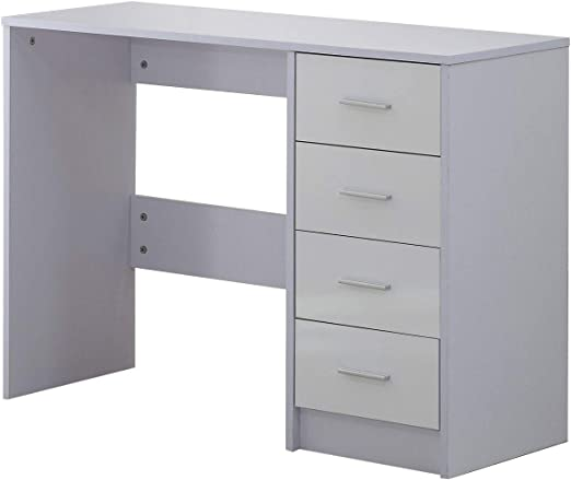 HOMCOM - Mueble para Oficina, Escritorio de Estudio para Ordenador ...
