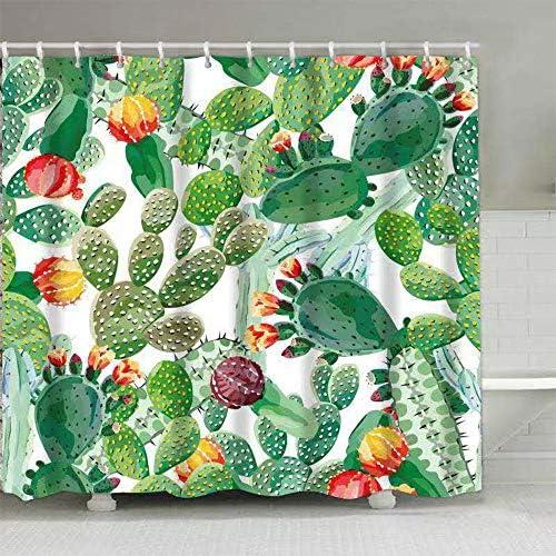 180 x 180cm Drop Mould Mildew Resistant Waterproof Extra Long Bath Curtain with 12pcs Hooks 72 x 72 Inch EINSKEY Shower Curtain