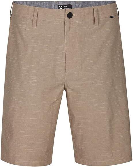 "Khaki New Hurley Phantom 20/"" Hybrid Shorts"