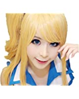 Fairy Tail lucy cosplay costume wig