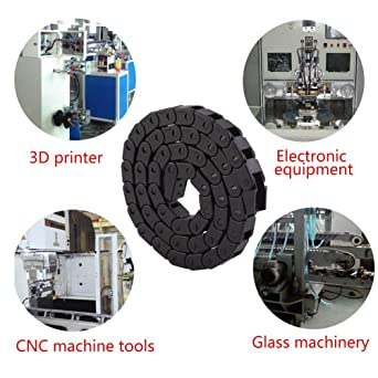 R28 Cadena Cables CNC,Cadena De Plástico 1000Mm,Para Máquina ...