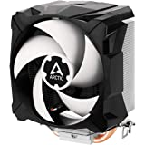 ARCTIC Freezer 7 X - Compact Multi-Compatible CPU Cooler, 100 mm PWM Fan, Compatible with Intel & AMD Sockets, 300-2000 RPM (
