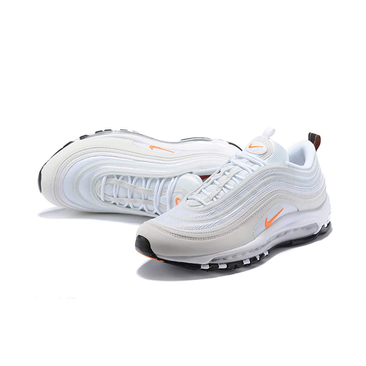 premium selection ef244 a72da Nike AIR MAX 97 Men's Sneaker Shoes in White Fabric BQ4567 ...