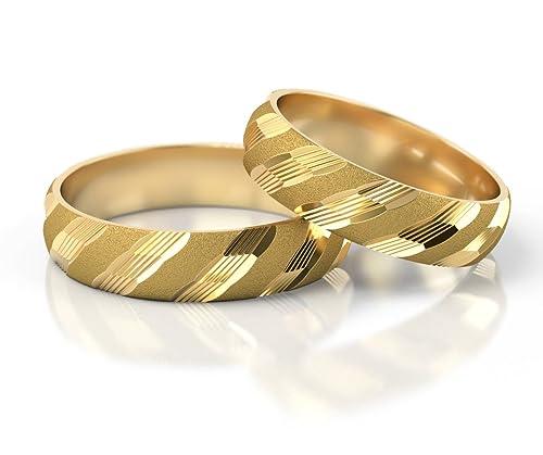 Ringe-der-Welt Anillos De Boda Oro amarillo S-985