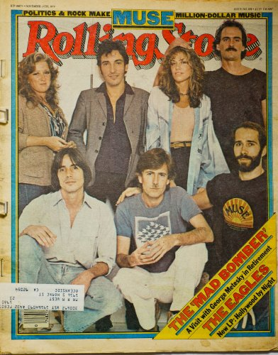 Rolling Stone Magazine Nov. 15 1979 Issue 304 Muse Cover
