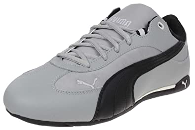 Puma Fast Cat Material Pack Leather Sneaker grau Herren