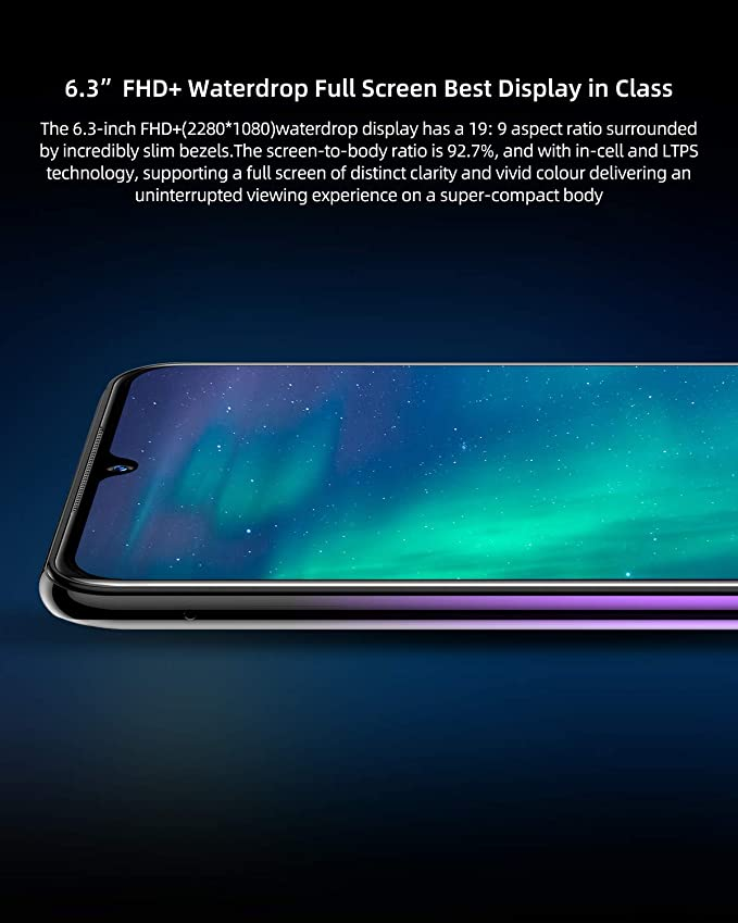 DOOGEE N20 Telefono Movil Libres 4G, 2019 Android 9.0 Smartphones ...