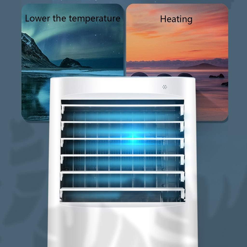 Aire Acondicionado Portátil Refrigerador de Aire Portátil Humidificador y Purificador de Aire con Cuatro Temporizadores de Velocidad del Viento 15 Horas Ideal for Oficina/Hogar: Amazon.es: Hogar