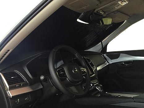 Heatshield The Original Auto Sunshade Custom Fit For Volvo Xc90 Suv W Sensor 2016 2017 2018 2019 Silver Series