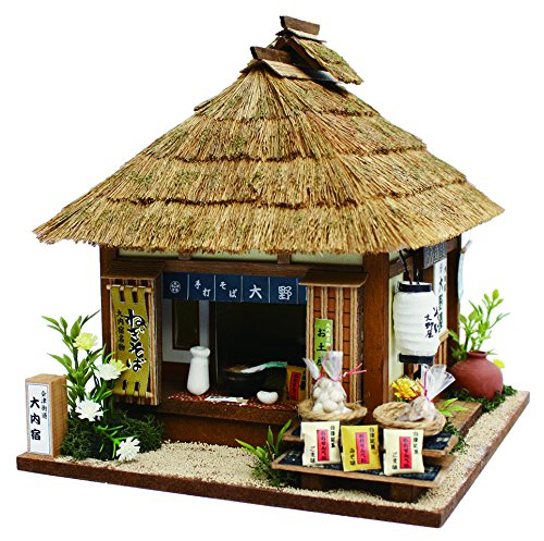The Hand-made Dollhouse Kit Highway Series 会津街道 大内宿のThe noodle shop