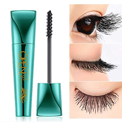 Mascara de pestañas Pawaca de 9 ml extra larga, máscara de pavo real 4D,