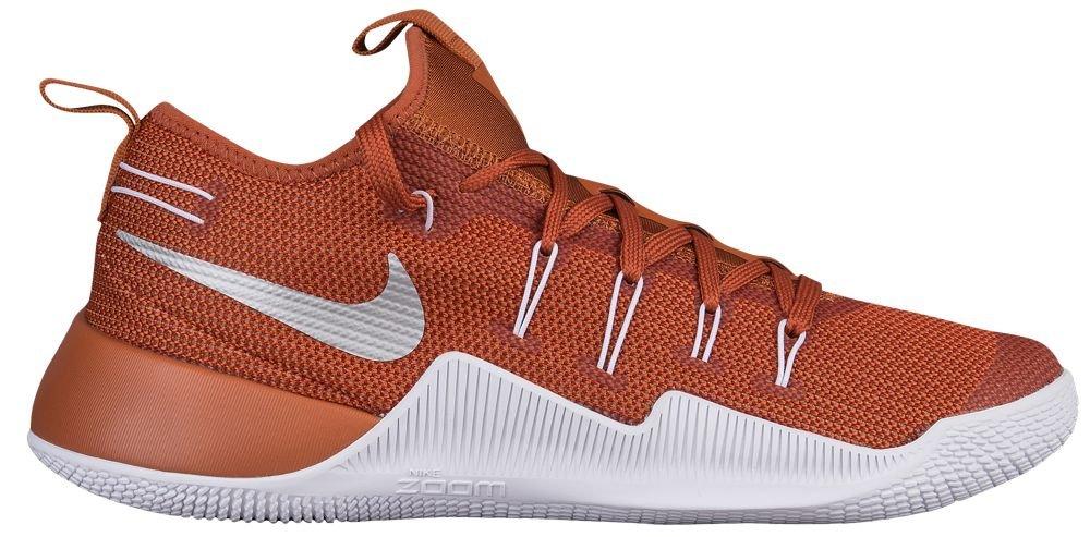 [ナイキ] Nike Hypershift - メンズ バスケット [並行輸入品] B07121VT6Z US12.5 Desert Orange/Metallic Silver/White