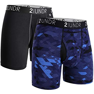 "2UNDR Swing Shift 6"" Boxer Brief 2-Pack at Men's Clothing store"