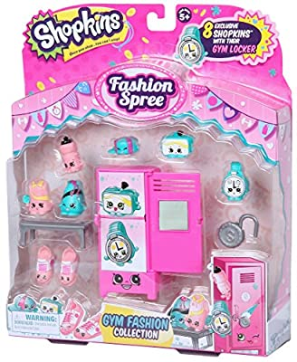 Shopkins Fashion Gym Fashion Collection from Moose Toys