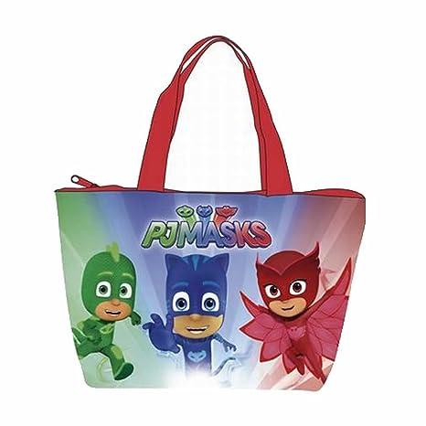 Pj Masks AD-PJ12099 2018 Bolsa de Tela y de Playa, 48 cm
