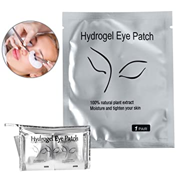 fb49bbf97 Amazon.com  110 Pairs Under Eye Eyelash Extension Gel Patches Kit ...
