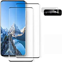 Tempered Glass Screen Protector for Samsung Galaxy S10, [2-Pack][3D Curved] [9H Hardness Anti-Scratch] [Ultrasonic…