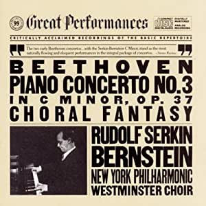 Beethoven: Piano Concerto No. 3 in C Minor, Op. 37 / Choral Fantasy