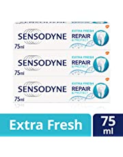 Sensodyne Sensitive Repair and Protect Extra Fresh Toothpaste, 75 ml, Pack of 3