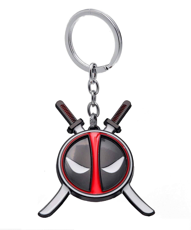 Inestimable Collection Rojo Deadpool con Espadas Marvel ...
