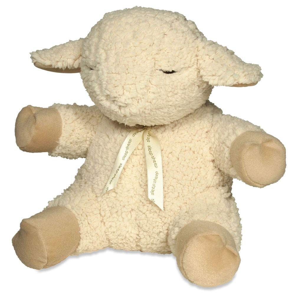 Hammacher Schlemmer Cloub B The Award Winning Infant's Sleep Sound Lamb 10.5''