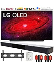 "LG OLED48CXPUB 48"" CX 4K OLED TV AI ThinQ (2020) with Deco Gear Soundbar Bundle"