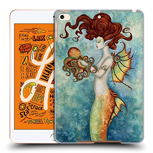 Official Amy Brown Mermaid and Octopus Sea Hard Back Case Compatible for iPad Mini (2019)