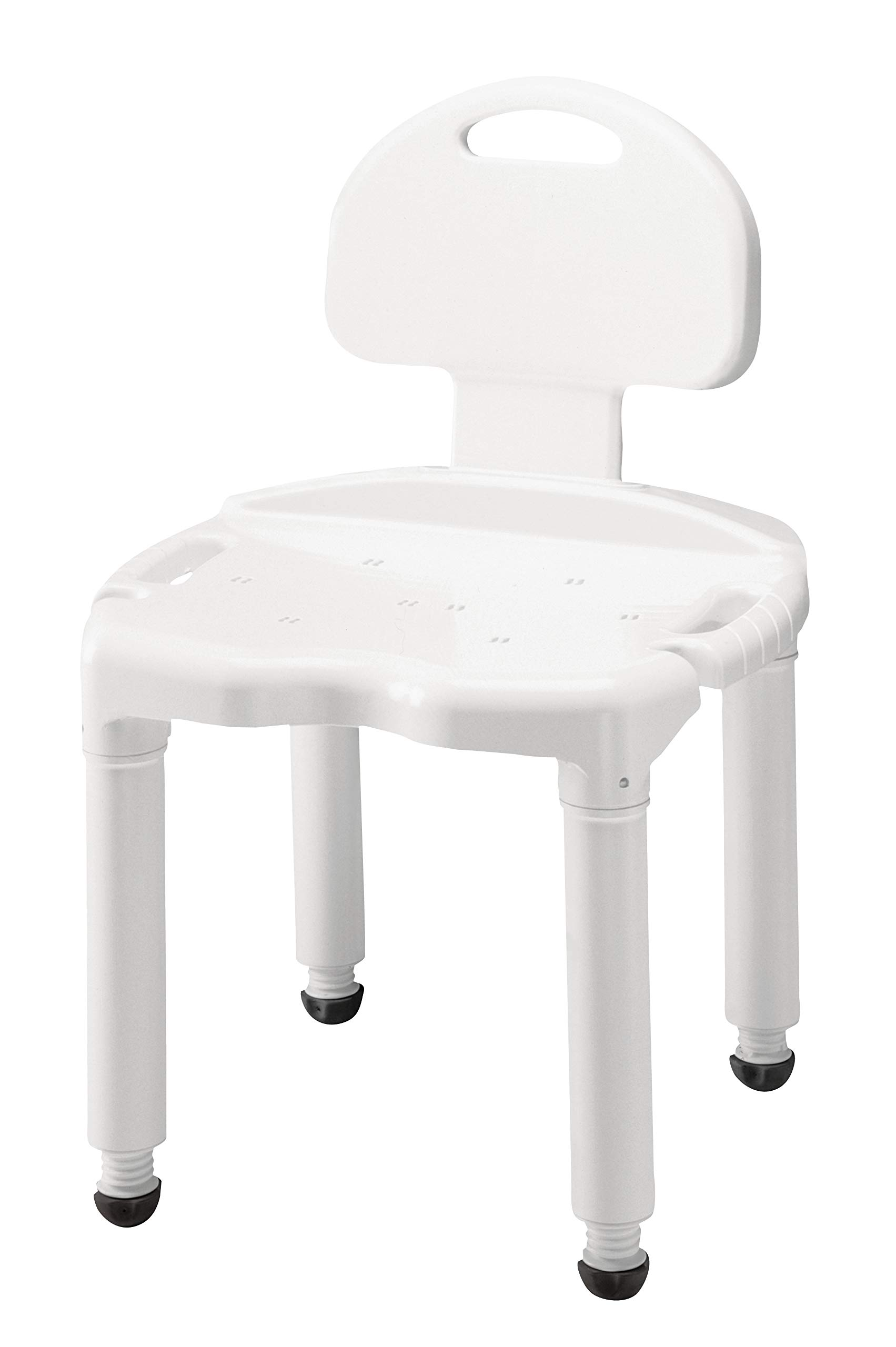 Medical Tool-Free Assembly Bathtub Shower Chair Seat and Benchwith Back